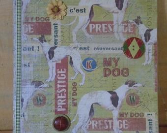 Altered Vintage Inspired Dog Show Clipboard