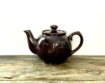 Brown Sadler Classic Brown Betty teapot for two