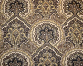 REMNANT Peoria Shaodw Paisley Fabric 55 inches x 1 yard