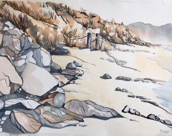 519 Rocks on the Beach