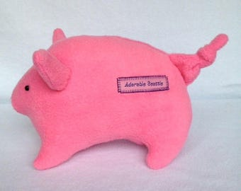 Plush Pigglet Bubble Gum Pink