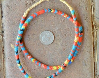 Old Snake Beads: Multicolored