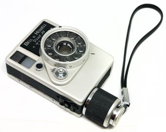 Bell and Howell (Canon) Dial 35 exotic half-frame clockwork film camera