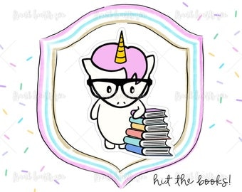 Hit the Books! - Sprinkles Study Time Planner Stickers - 007