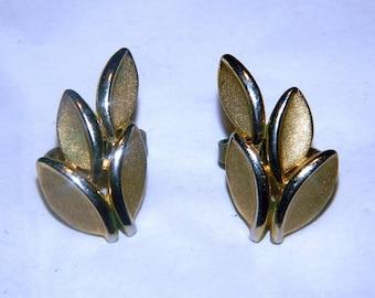 Crown Trifari Earrings - Clip On Earrings