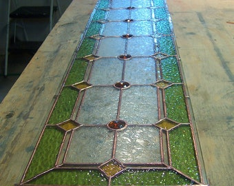 RESERVED LISTING for Robert - Stained Glass Sidelight or Transom - Vintage Style Sidelights