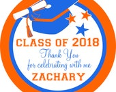 Custom Graduation Labels