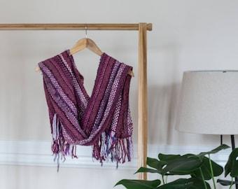Handwoven Shawl - Alpaca Blended Wool