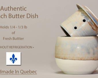 New Firing! Butter Dish, Soft Butter Keeper, Butter Dish With Lid, French Butter Dish, Beurrier Breton, Butter Crock, Cloche de Beurre
