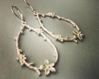 Ox Silver Filigree Earrings