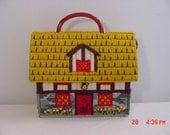 Vintage Hand Made Yarn House Hand Bag  18 - 1118