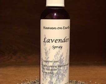 Lavender Spray, All Natural, 5 oz.