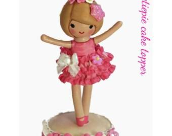Ballet Party, Ballerina 1st Birthday, Ballerina Cake Topper,Dance Birthday Party, Ballet Birthday Party, Ballet Birthday Cake Decorations
