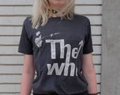 1970s The Who band t shirt