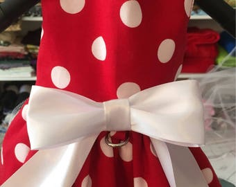 "The ""Vintage Polka Dot"" Harness Dress"