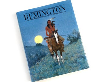 Frederic Remington: The Masterworks by Michael Edward Shapiro 1988 First Edition Hardcover