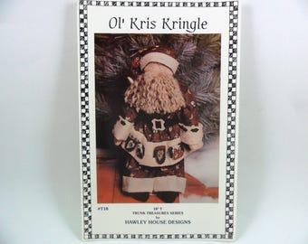 Santa Kris Kringle Sewing Pattern by Hawley House
