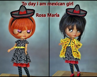 Mexican blythe outfit