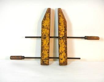Vintage Jorgensen Wood Clamp