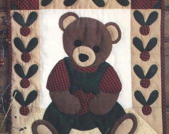 BEARY PATCH Quilt Pattern - Uncut - Q041