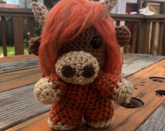 Crochet Highland Cow