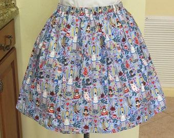 Adult Alice in Wonderland Skirt