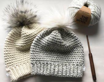 CROCHET PATTERN, The Journey Crochet Hat Pattern, Crochet Hat Pattern, Crochet, Craft Supply, DIY Hat Pattern, Hat Pattern