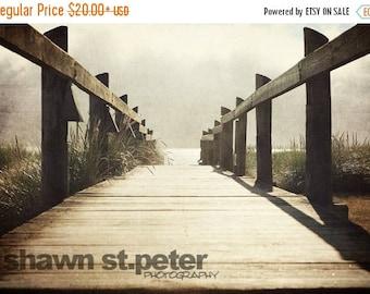 WEEKEND SALE Oregon Coast Boardwalk Photo Print, Beach Decor, Wall art, Photo decor, Beach photo