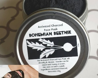 Charcoal-Clay Face Mask