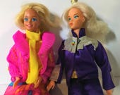 Reserved for Melissa Mod Barbie Lot 2 Dolls 1 Case 16 Outfits 6 Pairs of shoes
