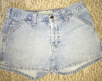 Vintage 90's Abercrombie & Fitch Vintage Women's Mom Jean Shorts Size 4 High Waisted