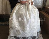 Florence Christening Gown for Maria Diacoloukas