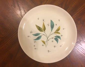 Salem China Biscayne Dinner Plates x7 Some Decal Rubs