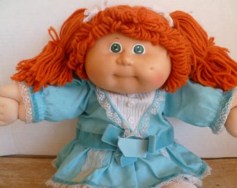 Cabbage Patch Kids Doll 1983 Red Hair