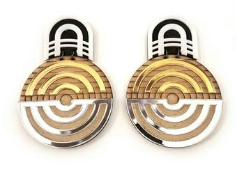 MOD DECO - siren statement earrings