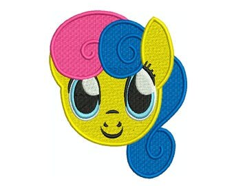 PONY PORTRAIT 10 - Machine Filled Embroidery - Instant Digital Download