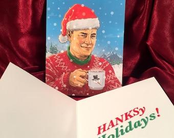 TOM HANKS Christmas CARD!