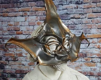 Copper Starfish Leather Mask