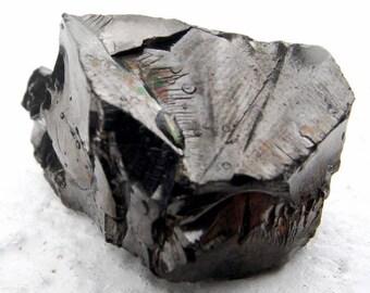 Rare Elite Shungite - Silver Shungite, Noble Shungite, The Miracle Stone, crystal healing, raw crystal, rough crystal, crystal specimen