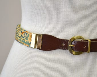 1950s Reversible Fabric Belt