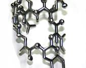 Oxytocin Molecule cuff bracelet