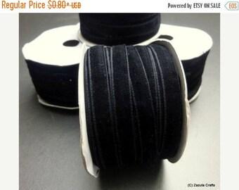 ilovesales 10mm black velvet ribbon, Gift wrap ribbon, Christmas ribbon, 10mm ribbon, velvet ribbon, black ribbon,narrow ribbon,trim