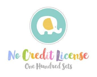 No Credit Commercial License for Up to 100 Sets.