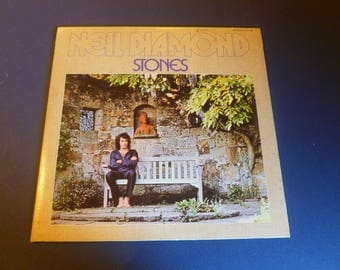 Neil Diamond Stones Vinyl Record LP 93106 Stereo MCA Records 1971