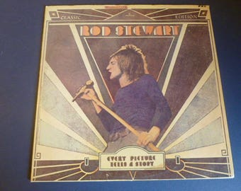 Rod Stewart Every Picture Tells A Story Vinyl Record LP SRM-1-609 Mercury Records 1971