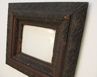 Black Empire Era Frame - Ornate Vintage Black Depression Era Frame