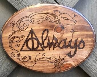 Always - Handmade Plaque