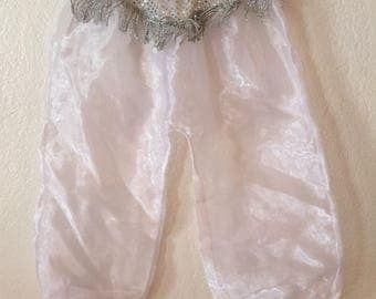 Adorbable kids Genie Silver Sequins Genie Pants Free Shipping