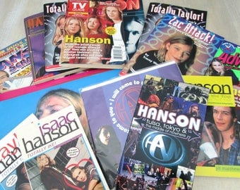 1990s Pop Music Group Hanson Collection