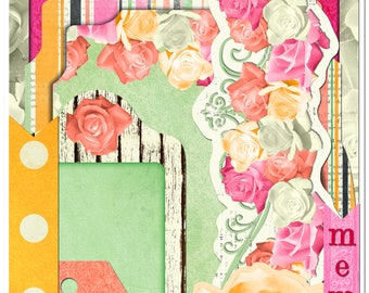 """BoBunny """"Aryia's Garden"""" Collection Noteworthy Die Cuts"""
